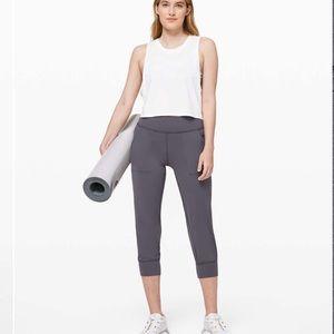 New!! Lululemon Align Jogger Crop In Moonwalk 🌙